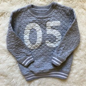 Joe Fresh Grey Toddler Sweatshirt Size 3T